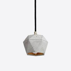 [T2] Concrete & Gold - Silver - Copper | Suspended lights | GANTlights