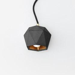 [T2] dark up Concrete & Gold - Silver - Copper | Lampade tavolo | GANTlights
