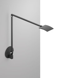 Mosso Pro Desk Lamp with hardwired wall mount, Metallic Black | Appliques murales | Koncept