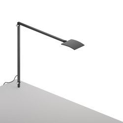 Mosso Pro Desk Lamp with through-table mount, Metallic Black   Table lights   Koncept