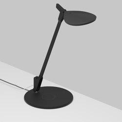 Splitty Desk Lamp with wireless charging Qi base, Matte Black   Table lights   Koncept