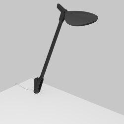 Splitty Desk Lamp with through-table mount, Matte Black   Table lights   Koncept