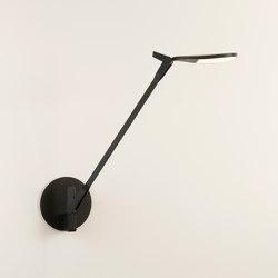 Splitty Pro Desk Lamp with hardwire wall mount, Matte Black   Table lights   Koncept