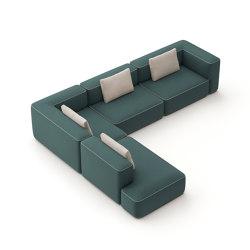pads sofa Konfiguration 10 | Sofas | Brunner