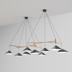 Emily Group of Nine semi-matte | Suspended lights | Daniel Becker Studio