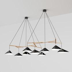 Emily Group of Nine high gloss | Lámparas de suspensión | Daniel Becker Studio