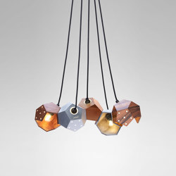 Basic Twelve Quintet Pendant | Suspended lights | Plato Design