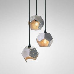 Basic Twelve Trio Pendant | Suspended lights | Plato Design