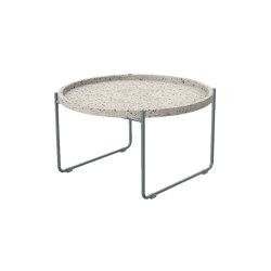Terrazzo Table Frame Aluminium Grey | Coffee tables | Trimm Copenhagen