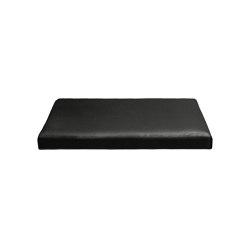 Connect Mattress Leather Small Black | Seat cushions | Trimm Copenhagen
