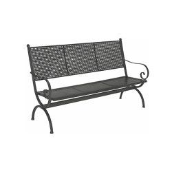 Romeo | Bench Romeo Elegance 3 Seater | Benches | MBM
