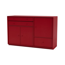 Montana Mega | 201202 sideboard with drawers and doors | Sideboards | Montana Furniture