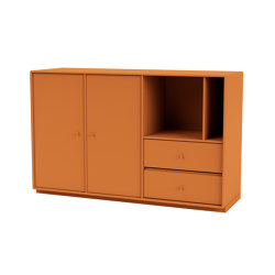 Montana Mega | 201203 sideboard with shelves and doors | Sideboards | Montana Furniture