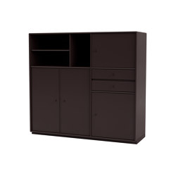 Montana Mega | 201803 highboard with doors and shelves | Sideboards | Montana Furniture