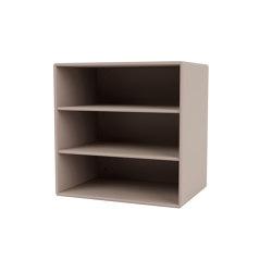 Montana Mini | 1004 with horisontal shelves | Shelving | Montana Furniture