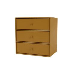 Montana Mini | 1007 three tray drawers | Shelving | Montana Furniture