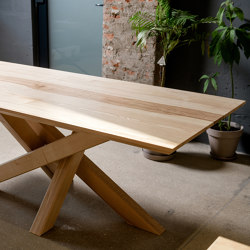 Solid ash Table 2m x 1mx 0,7m | Dining tables | Ekomoss