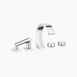 CYO - Five-hole bath mixer for bath rim or tile edge installation | Bath taps | Dornbracht