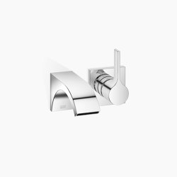 CYO - Wall-mounted single-lever basin mixer without pop-up waste | Wash basin taps | Dornbracht