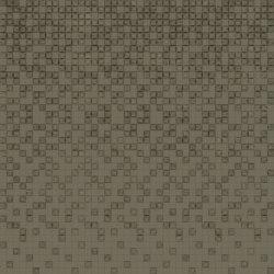 Mosaico Velluto Olive Brown Layout B | Leather tiles | Studioart