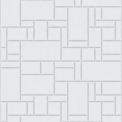 PATTERN 6 City Bianco Ottico | Leder Fliesen | Studioart