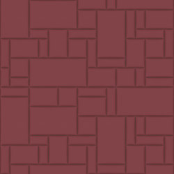 PATTERN 6 City Merlot | Leather tiles | Studioart
