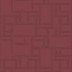 PATTERN 6 City Merlot | Leder Fliesen | Studioart