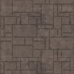 PATTERN 6 Natural Fango | Leather tiles | Studioart