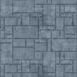 PATTERN 6 Natural Ice Grey | Leather tiles | Studioart