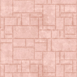 PATTERN 6 Natural Pink Lady | Leather tiles | Studioart