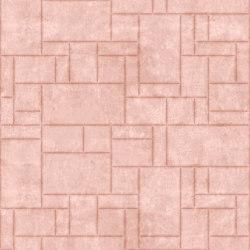 PATTERN 6 Natural Pink Lady | Leder Fliesen | Studioart