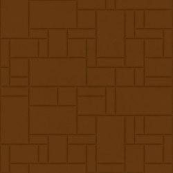 PATTERN 6 Velluto Cognac | Leder Fliesen | Studioart