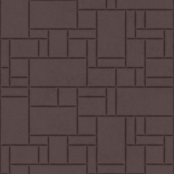 PATTERN 6 Velluto Dusty Grape | Leather tiles | Studioart