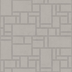 PATTERN 6 Velluto Greige | Leather tiles | Studioart