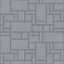 PATTERN 6 Velluto Ink Blue | Leder Fliesen | Studioart
