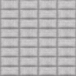 Rettangolo Pezzara Layout A | Leather tiles | Studioart