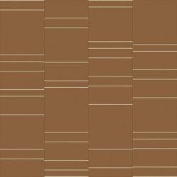 RYDER City Cognac Layout B | Leder Fliesen | Studioart