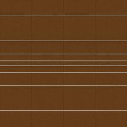 RYDER Velluto Cognac Layout C | Leder Fliesen | Studioart