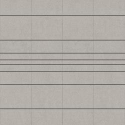 RYDER Velluto Greige Layout C | Leder Fliesen | Studioart