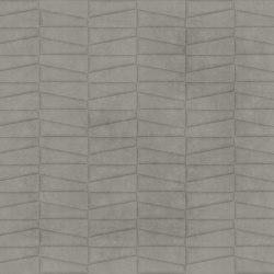 TRAPEZIO Waternatural Steel Layout B | Leder Fliesen | Studioart