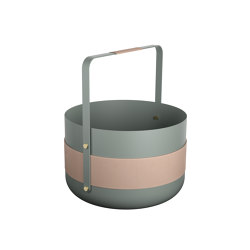 Emma Basket | Lichen | Storage boxes | Eldvarm
