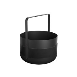 Emma Basket | Noir | Storage boxes | Eldvarm