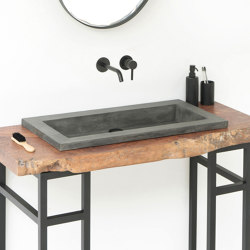 Bes Dusk Grey Concrete Basin - Sink - Vessel - Washbasin | Wash basins | ConSpire