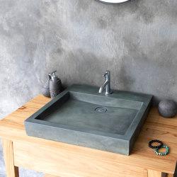 Bologna Copper Green Concrete Basin - Sink - Vessel - Washbasin | Wash basins | ConSpire