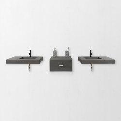 Double Dutch Dusk Grey Concrete Basin - Sink - Vessel - Washbasin | Wash basins | ConSpire