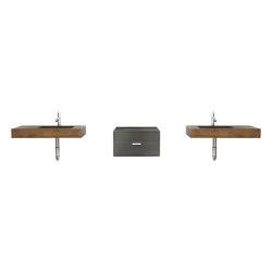 Double Dutch Vintage Brown Concrete Basin - Sink - Vessel - Washbasin | Wash basins | ConSpire
