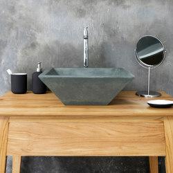 Grappa Copper Green Concrete Basin - Sink - Vessel - Washbasin | Wash basins | ConSpire