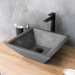Grappa Dusk Grey Concrete Basin - Sink - Vessel - Washbasin | Wash basins | ConSpire
