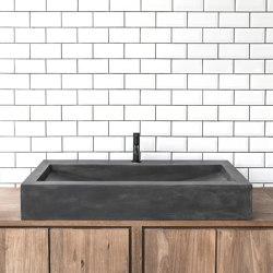 Horizon Dusk Grey Concrete Basin - Sink - Vessel - Washbasin | Wash basins | ConSpire