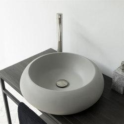 Milano Light Grey Concrete Basin - Sink - Vessel - Washbasin   Wash basins   ConSpire
